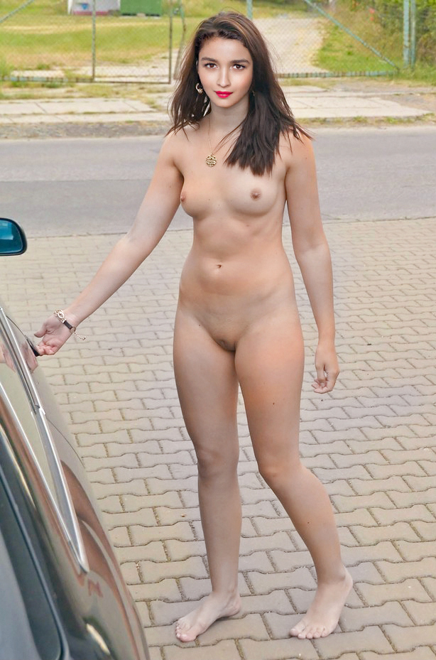 black fat naked woman
