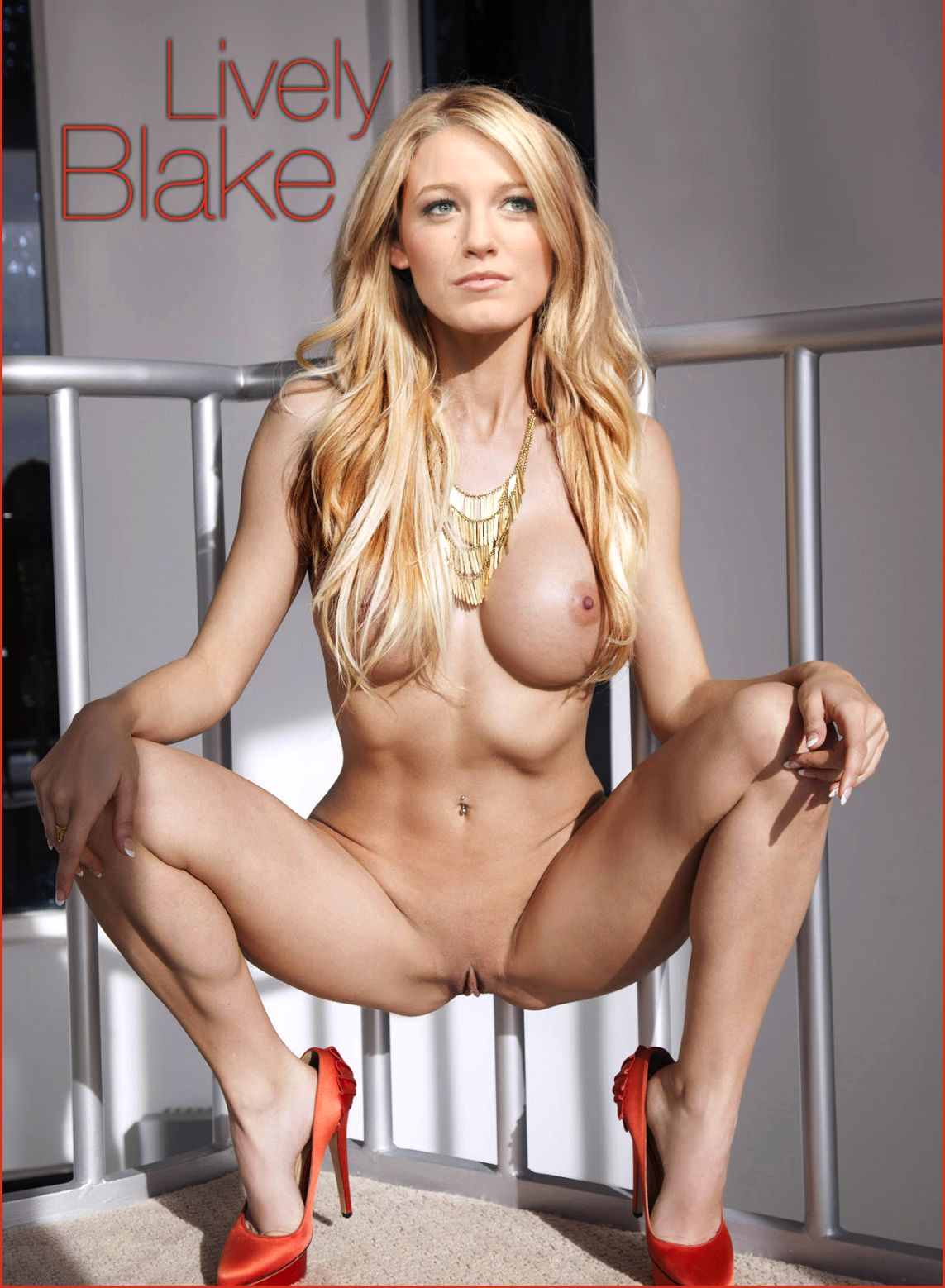 Redhead cum blake lively naked sexy pics nipples