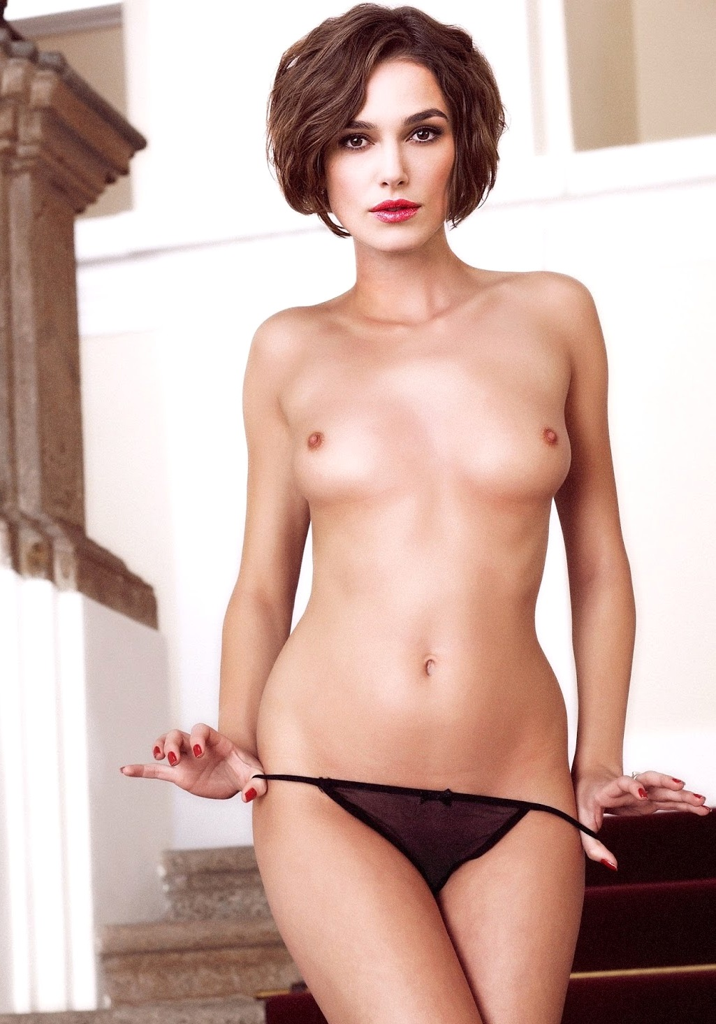 Keira knightley real naked, pornstar tattoo on her asshole
